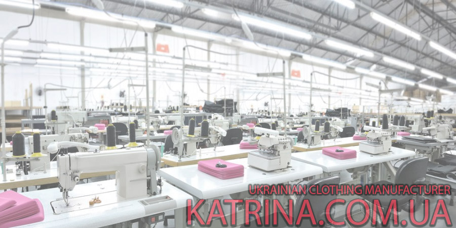 clothing factory in Ukraine